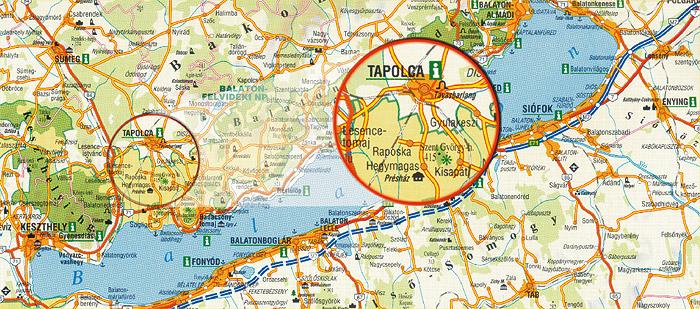 tapolca térkép Mogyorósi Tibor   Szőlőoltvány tapolca térkép